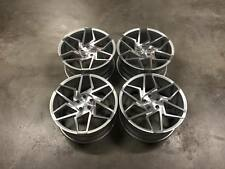 "19"" Veemann V-FS27R Wheels - Silver Machined - VW Audi Mercedes 5x112"