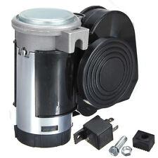12V Snail Compact Dual Tone Electric Pump Siren Loud Air Horn Van Truck Car ATV