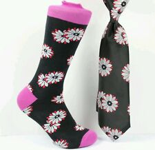 Men's Neck tie and Matching Socks Set