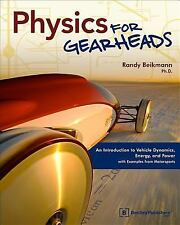 2-DAY SHIPPING | Physics for Gearheads: An Introduction to Vehicle Dy, PAPERBACK