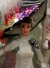 Barbie Doll Audrey Hepburn ASCOT GOWN Eliza Doolittle My Fair Lady 1996 NRFB