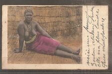 POSTCARD CAPE OF GOOD HOPE AFRICAN WOMEN NUDE SEXY