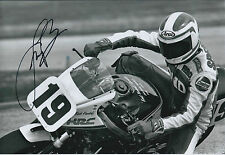 Fast Freddie SPENCER SIGNED Photo HONDA HRC AFTAL Autograph COA Daytona Beach