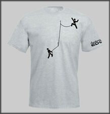 SANCTUARIES EDGE STICK CLIMBERS CLIMB MOUNTAINEERING T SHIRT CLIMBER ROCK