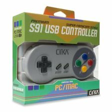 S91 PC/ Mac SNES-Style USB Controller (Super Famicom) - CirKa