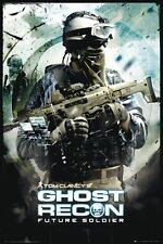Ghost Recon Future Soldier POSTER 60x90cm NEW * Game Tom Clancy Tactical Shooter