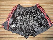 VINTAGE Short TREVOIS nylon polyamide shinny brillant noir made France 80's 95