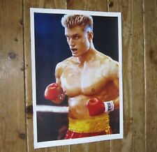 Captain Ivan Drago Rocky IV POSTER