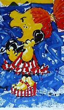 TOM EVERHART 1-800 My Hair is Pulled too Tight PEANUTS Peppermint P. Hand signed