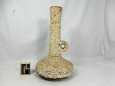 Unusual shaped 70´s van Woerden design Vest Keramik LAVA  Vase  F 3  29 cm 09930