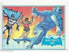 1966 Topps Batman Blue Bat with Bat Cowl Back (26B) Jack Frost's Jinx