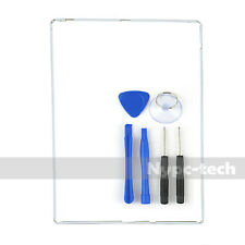 For iPad 2/3/4 Digitizer LCD Screen Bezel Plastic Mid Frame +Adhesive/Tool White