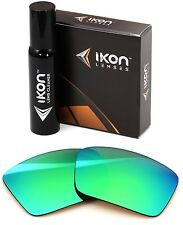 Polarized IKON Replacement Lenses For SPY Touring Sunglasses Green Mirror