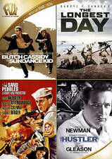 BUTCH CASSIDY AND THE SUNDANCE KID/LONGEST DAY/SAND PEBBLES/HUSTLER (DVD) NEW