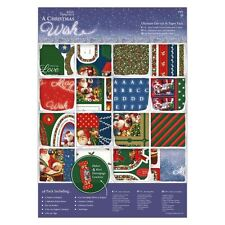 Papermania A Christmas Wish A4 Ultimate Die Cut Card Making Paper Pack (48 pk)
