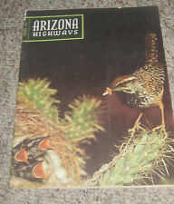 Arizona Highways January 1954 Cactus Wren Organ Pipe Cactus National Monument