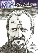 Dr Doctor Who Trilogy Sketch Card by Nick Neocleous /2