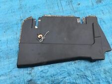 BMW E39 525i 528i 530i PLASTIC PLATE COVER FINISHER WELL FOOT SIDE BOTTOM FRONT