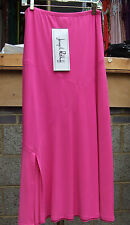 Joseph Ribkoff BNWT UK 10 Fabulous Long Cerise Pink SWkirt with Slit