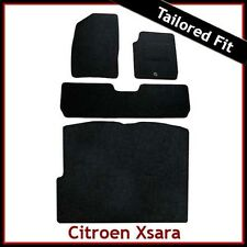 Citroen Xsara Picasso 1999 - 2012 Tailored Fitted Carpet Car & Boot Mats BLACK