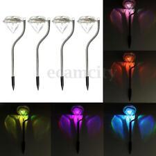 4 Stk Gartenlampe Solarleuchte Solarlampe Solarleuchten Farbewechsel Lampe Dekor