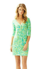 Lilly Pulitzer - Palmetto T-shirt Dress Parrot Citrus Green - S