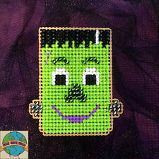 "Cross Stitch Kit ~ Halloween Frankenstein ""Frankie"" Buddy #K027"