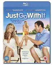 Just Go With It on Blu Ray Disc with Adam Sandler Jennifer Aniston New & Sealed