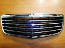 For Mercedes E Class W211 Assembly Black Grille With Chrome Frame 2007-2009 New