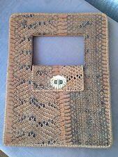 Vintage Piel De Serpiente Clutch Bag