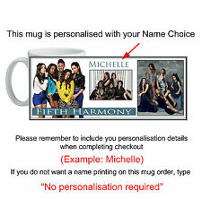 Fifth Harmony Mug custom printed with your name unique unusual gift id19480