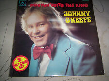 """JOHNNY O'KEEFE  """"ROCKIN' WITH THE KING""""    DOUBLE     LP    1970"""