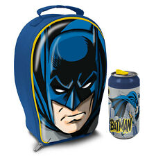 Batman 3D EVA Lunch Bag and Drinks Can *NEW*