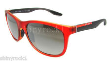 Authentic PRADA SPORT Red Sunglasses PS 03O 03OS - OAK4S1 *NEW*
