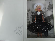 Beach Blanket Barbie 1997 San Diego National Convention SIGNED Black Dress NRFB