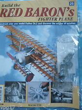 BUILD THE RED BARON'S FIGHTER PLANE FOKKER DR1  HACHETTE  ISSUE  25 NEW SEALED