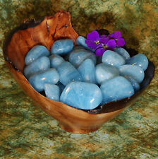 1 AQUAMARINE Africa Tumbled Stone - Consciously Sourced Healing Crystals