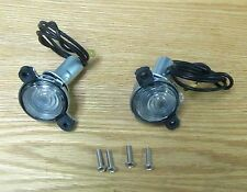 1956 CHEVY LICENSE PLATE LIGHT ASSEMBLY , NEW pair