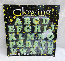 Glowing imaginations-glow in the dark stickers-alphabet lettres