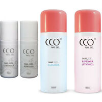 CCO UV/LED NAIL GEL CLEANSER & REMOVER 150ml / 75ml BOTTLES Any Nail Gel