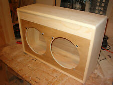 TRM 2x12 guitar extension cabinet project pine vintage British style 212.