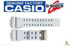 CASIO GA-110SN-7A G-Shock Original White (Off-White) Rubber Watch Band Strap