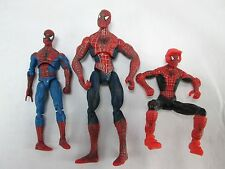 SPIDER MAN action figures Spiderman LOT of 3