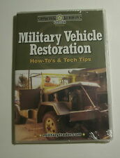 Military Vehicle Restoration How-To's & Tech Tips CD