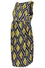 NWT TOPSHOP Yellow Maternity Tiger Lattice Flippy Dress (US 12/ UK 16/ EUR 44)