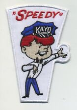 speedy kayo patch badge reproduction hot rod gasoline oil sales service station
