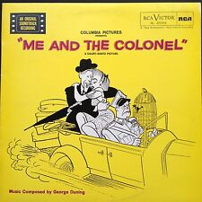 Rare import! George Duning ME AND THE COLONEL Film Score OST LP 1958 Danny Kaye