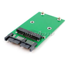 "Mini PCIe PCI-e MSATA 3x5cm SSD To 1.8"" Micro SATA uSATA Adapter Converter Card"
