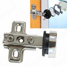 Probrico Cabinet Glass Door Hinges Concealed Hidden Nickel Full Overlay Flush
