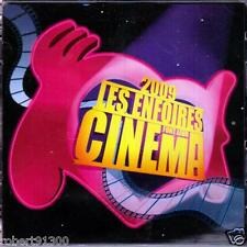 CD audio../...LES ENFOIRES FONT LEUR CINEMA......2009.../...2 CD...........